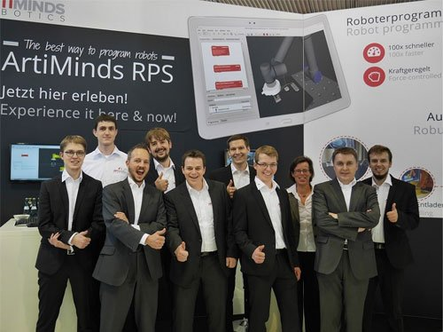 ArtiMinds Team Motek Messe