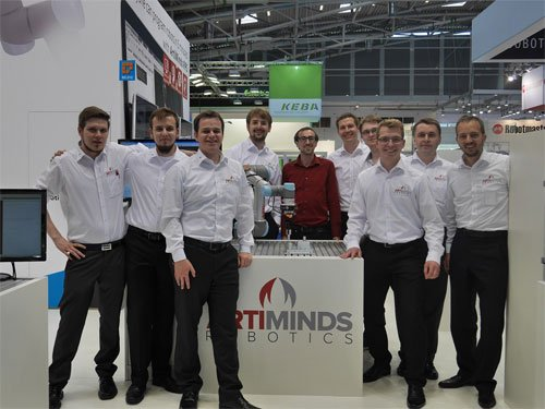 ArtiMinds Team Automatica Messe