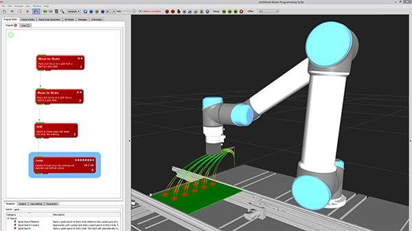 ArtiMinds Robotics – Aufgabensequenz per Drag & Drop erstellen