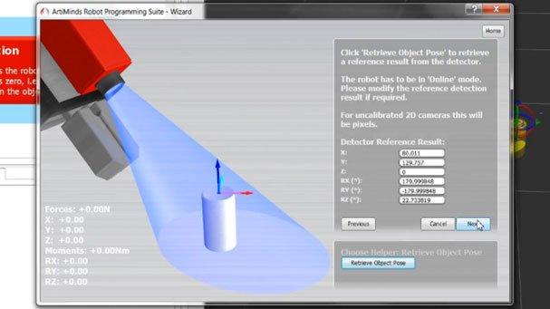 ArtiMinds Robotics - ArtiMinds RPS +Vision with Live Sensor Data