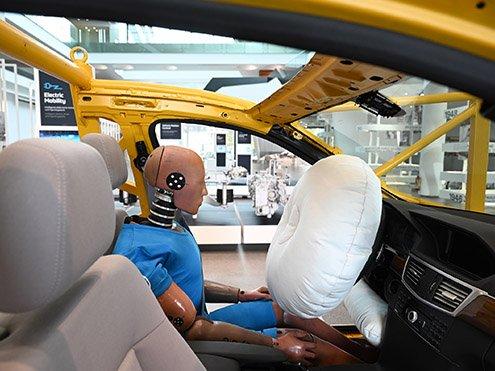 ArtiMinds Robotics customer ZF Friedrichshafen airbag sewing