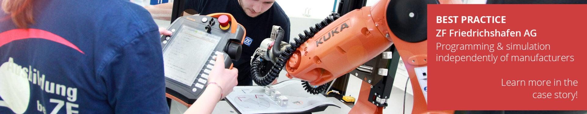 ArtiMinds Robotics – customer reference ZF-Friedrichshafen