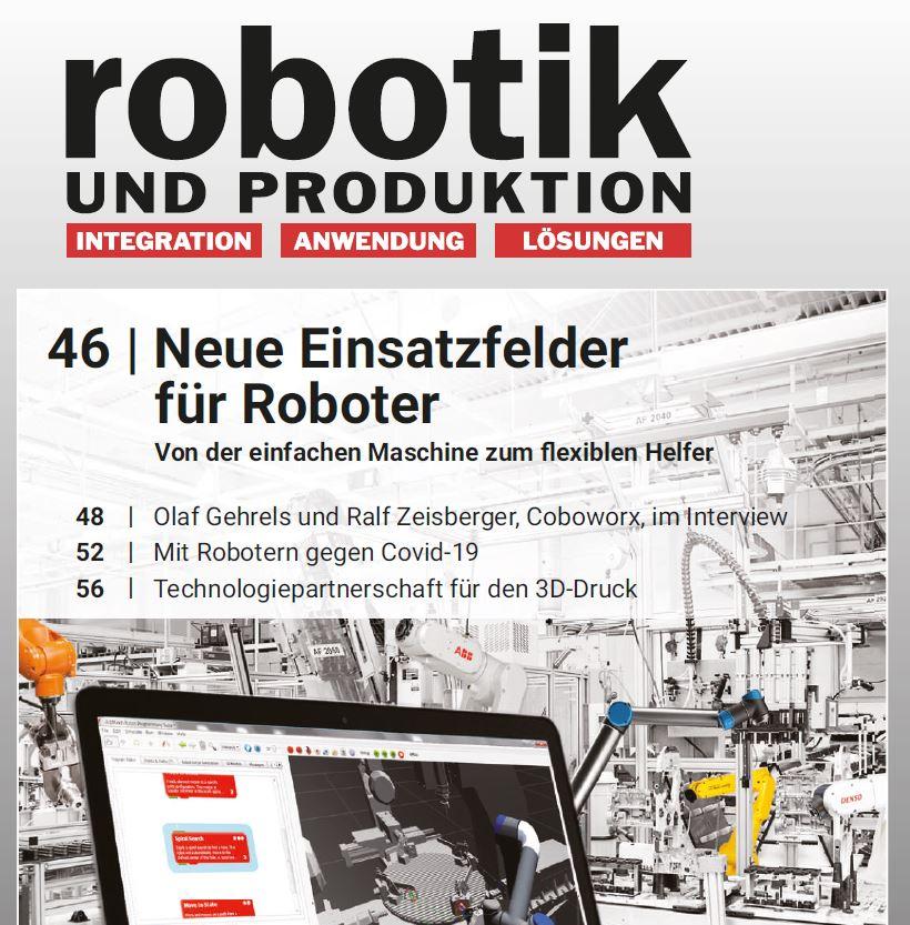 Robotik und Produktion - ArtiMinds Innentitel Neue Einsatzfelder für Roboter