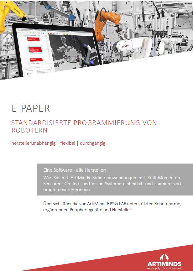 E-Paper Roboterprogrammierung