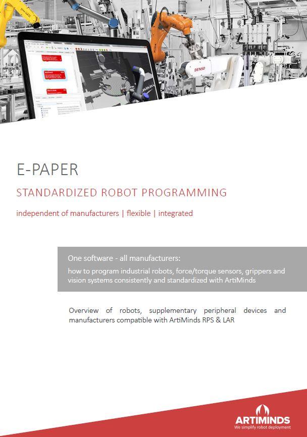 E-Paper Robot Programming