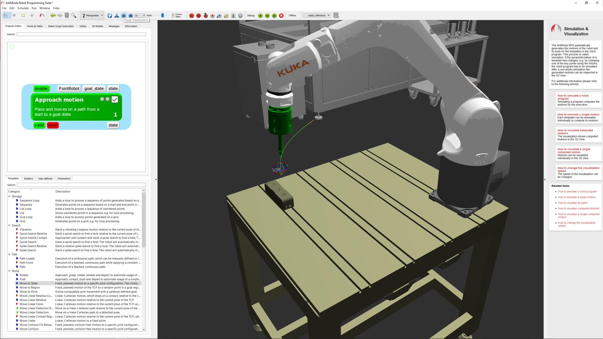 ArtiMinds Robotics TechTipp - Prüfung der TCP Orientierung