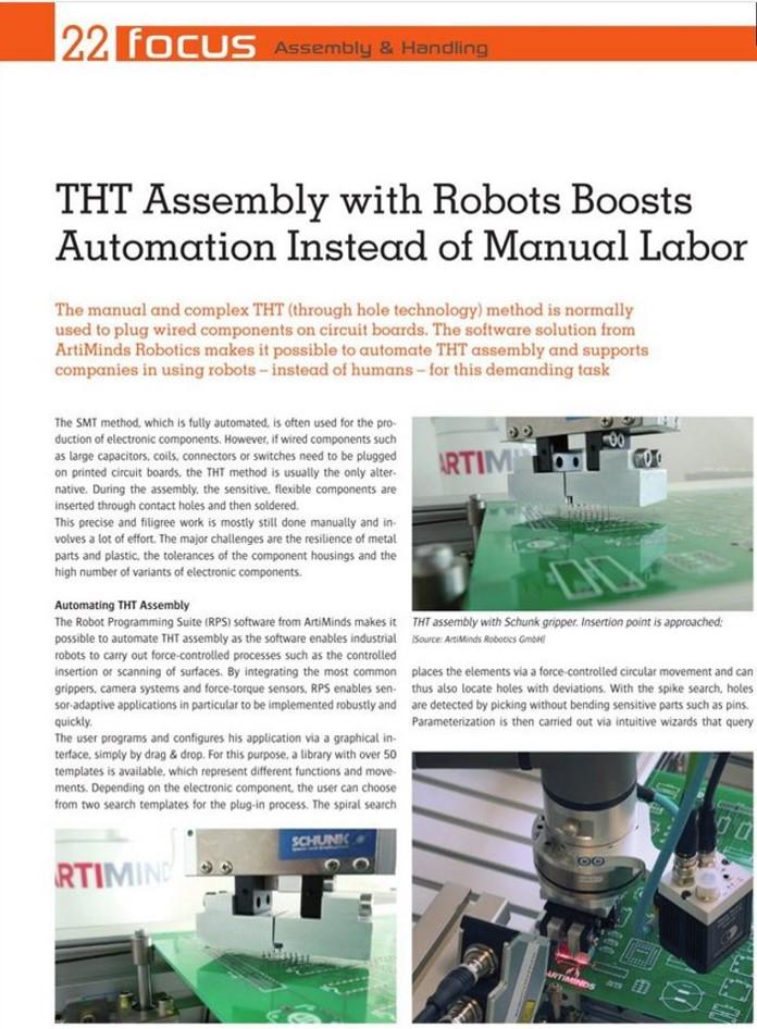 THT assembly