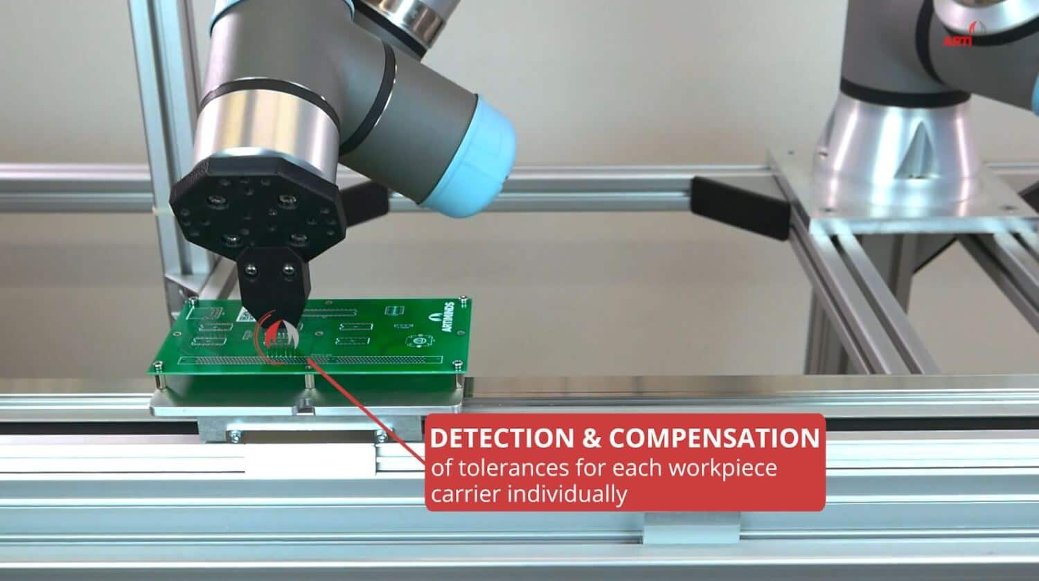 ArtiMinds Learning & Analytics for Robots - Comensation of tolerances and process optimization