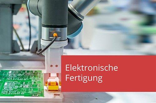 artiMinds Robotics für eine robuste und effiziente elektronische Fertigung