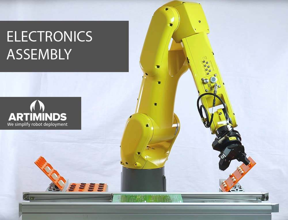 ArtiMinds Robotics - The solution for electronics assembly robot applications