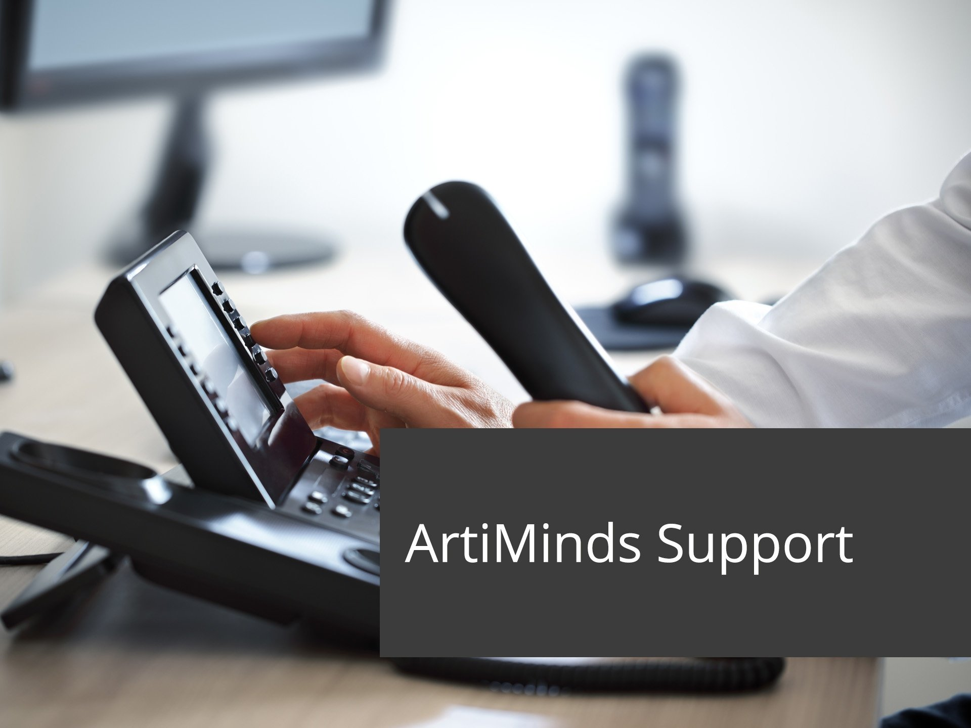 ArtiMinds-Robotics - The ArtiMinds support team is at your side.