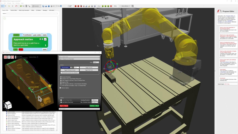 ArtiMinds Robotics - automatic path generation for complex gemetries