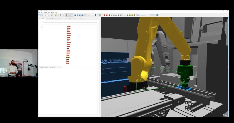 Screenshot Robotics Stars Vortrag Andreas Hermann_Live Demo
