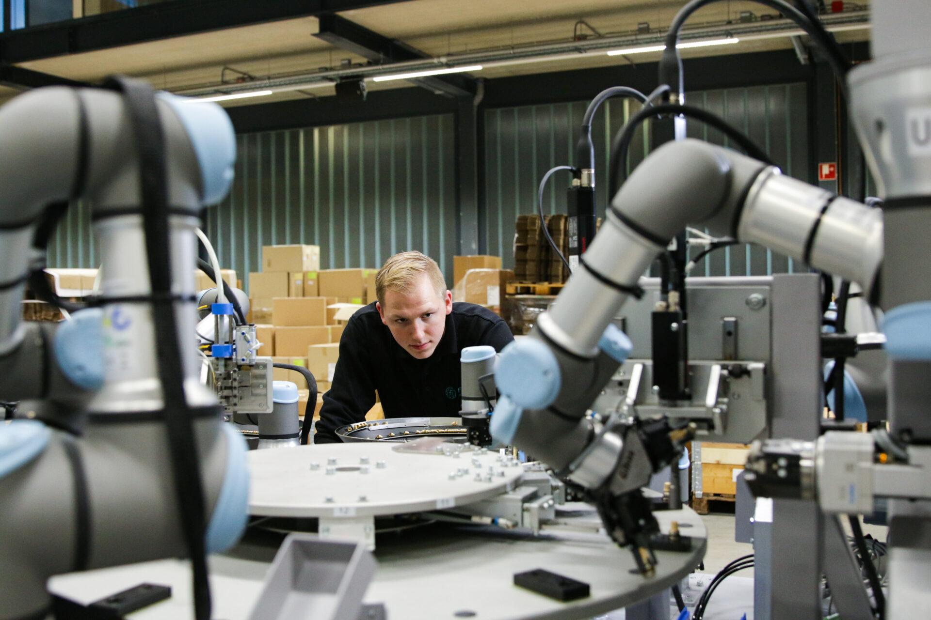 ArtiMinds-Robotics-3D-Simulationsumgebung