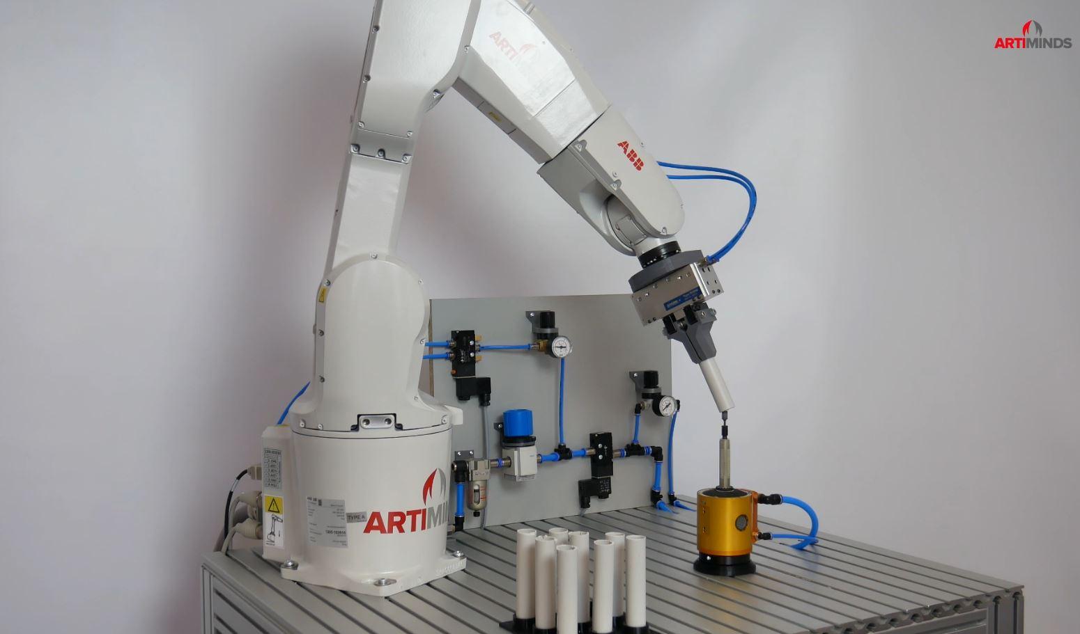 ArtiMinds Robotics - Vereinfachen Sie die Programmierung Ihres ABB Roboters ArtiMinds RPS