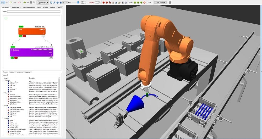 ArtiMinds Robotics - seamless switch between offline simulation and real robot