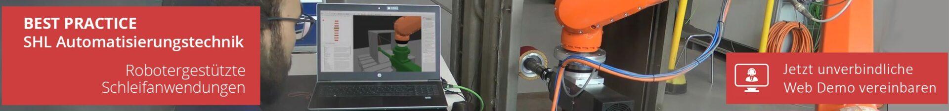 Automatisieren Sie mit ArtiMinds robotergestützten Schleifanwendungen