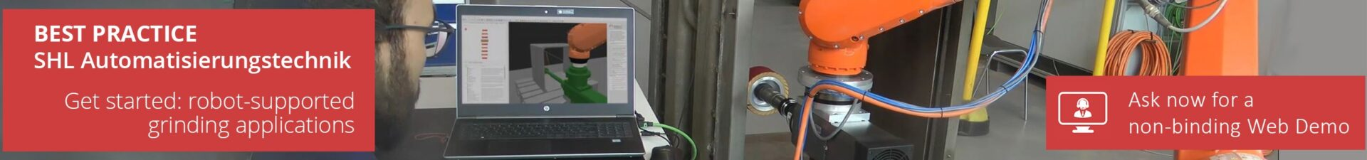 Automate robot-supported grinding applications using ArtiMinds Robotics