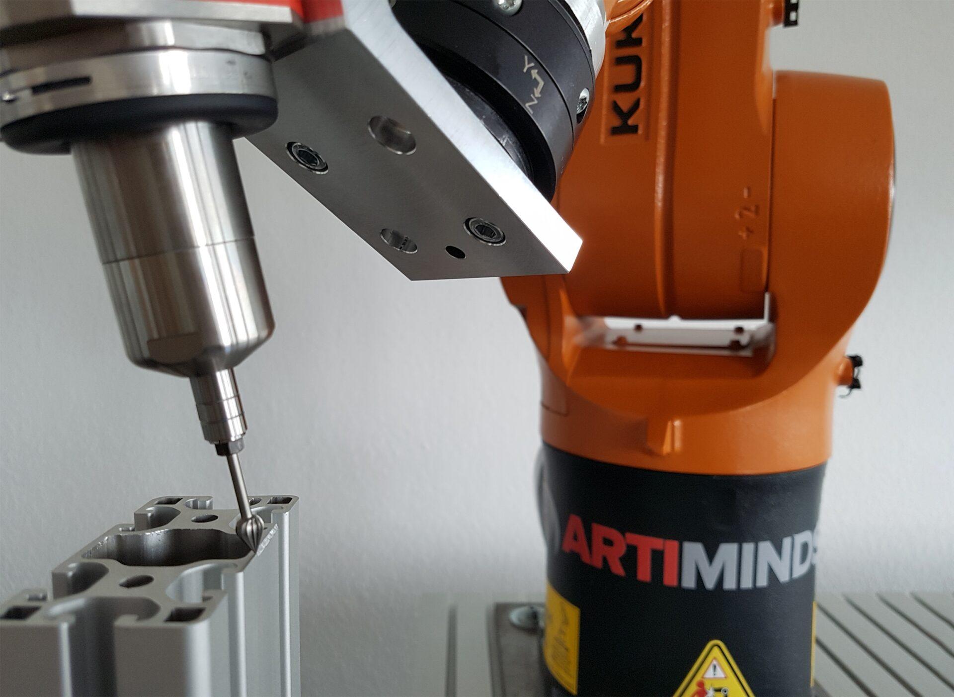 We help you solving sensor-based robot applications
