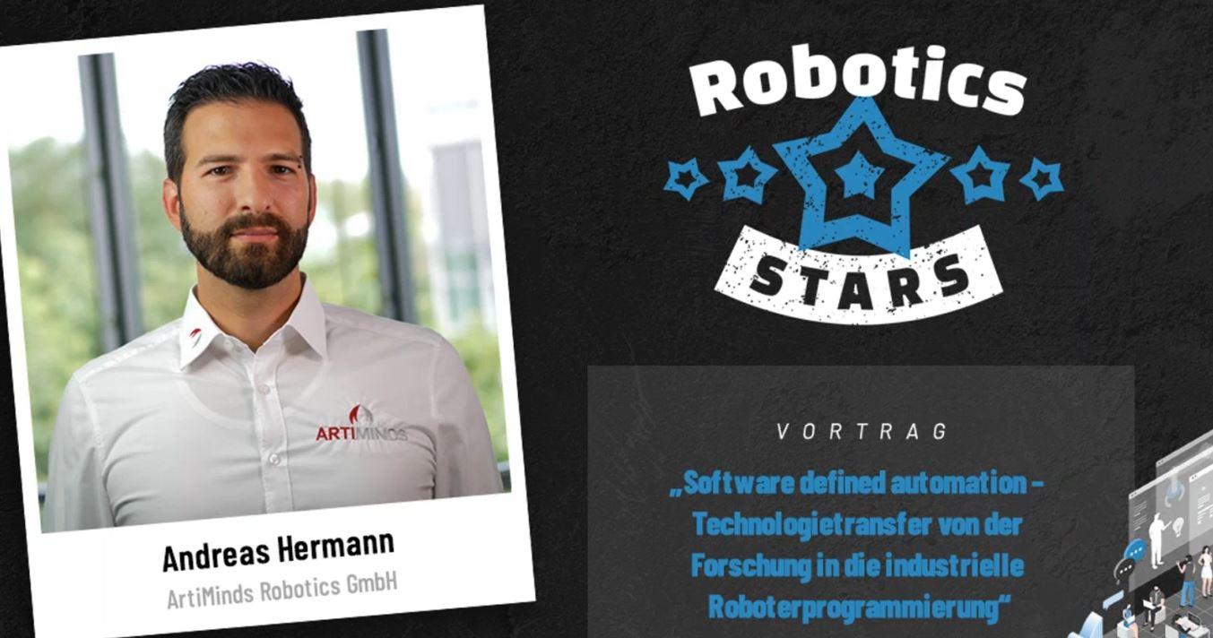 ArtiMinds Robotics bei Robotics Stars Digitalevent