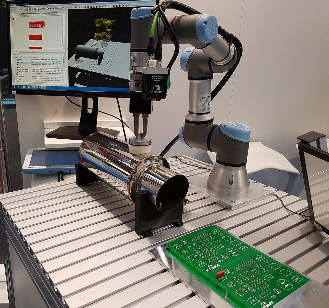 ArtiMinds Robotics – High-Mix-Low-Volume-Anwendungen